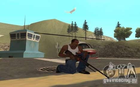 Redline weapon pack для GTA San Andreas четвёртый скриншот