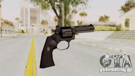 Liberty City Stories Colt Python для GTA San Andreas третий скриншот