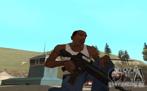 Redline weapon pack для GTA San Andreas третий скриншот