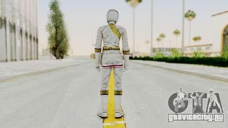 Power Rangers Wild Force - White для GTA San Andreas третий скриншот