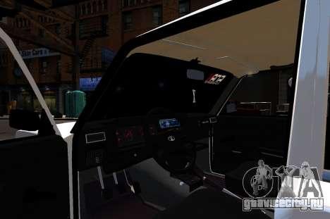 ВАЗ 2107 БПАН для GTA 4 вид сзади