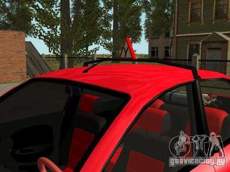 Daewoo Lanos (Sens) 2004 v2.0 by Greedy для GTA San Andreas салон
