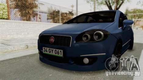Fiat Linea 2011 для GTA San Andreas вид справа
