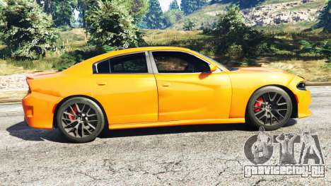 Dodge Charger SRT Hellcat 2015 v1.2 для GTA 5 вид слева
