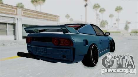 Nissan 180SX BETA для GTA San Andreas вид справа