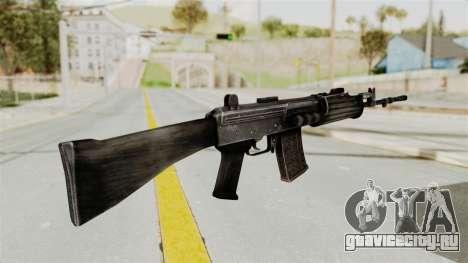 IOFB INSAS Detailed Black Skin для GTA San Andreas второй скриншот