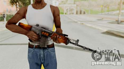 IOFB INSAS Detailed Orange Skin для GTA San Andreas третий скриншот