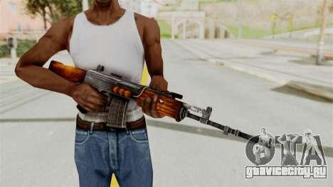 IOFB INSAS Detailed Orange Skin для GTA San Andreas третий скриншот