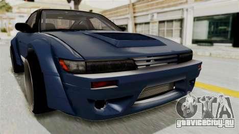 Nissan Silvia Sil80 для GTA San Andreas вид сбоку
