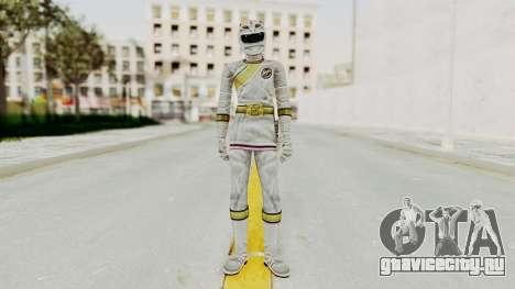 Power Rangers Wild Force - White для GTA San Andreas второй скриншот