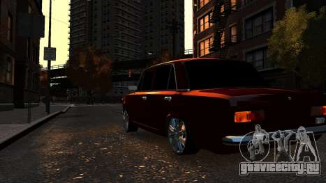 VAZ 21011 Style для GTA 4 вид сзади