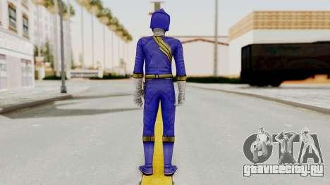 Power Rangers Wild Force - Blue для GTA San Andreas третий скриншот
