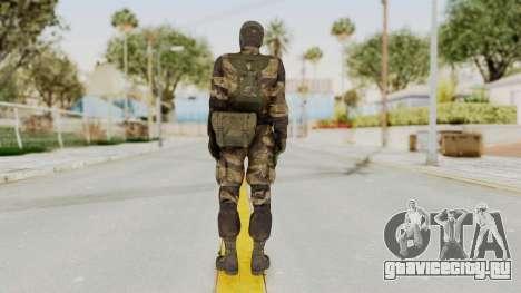 MGSV TPP Diamond Dog Combat Female для GTA San Andreas третий скриншот