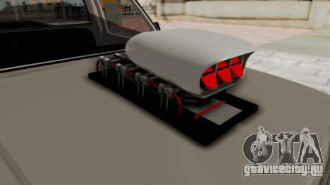 Chevrolet Silverado Classic 1985 Monster Truck для GTA San Andreas вид изнутри