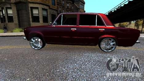 VAZ 21011 Style для GTA 4 вид слева