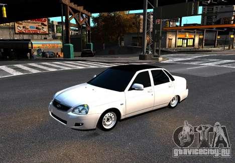 Lada Priora для GTA 4