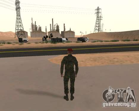 Пак Российских Военных для GTA San Andreas седьмой скриншот