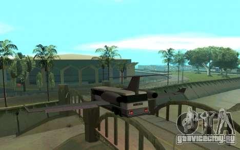 Sky Bus для GTA San Andreas вид сзади слева