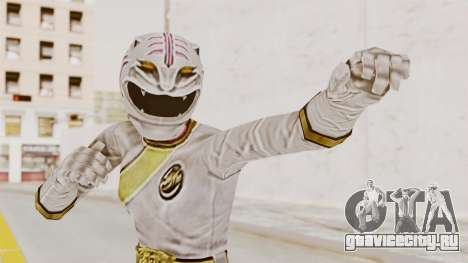 Power Rangers Wild Force - White для GTA San Andreas