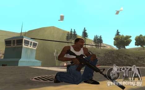 Redline weapon pack для GTA San Andreas второй скриншот