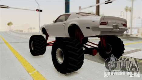 Pontiac Firebird 1970 Monster Truck для GTA San Andreas вид слева