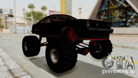 Ford Mustang King Cobra 1978 Monster Truck для GTA San Andreas вид справа