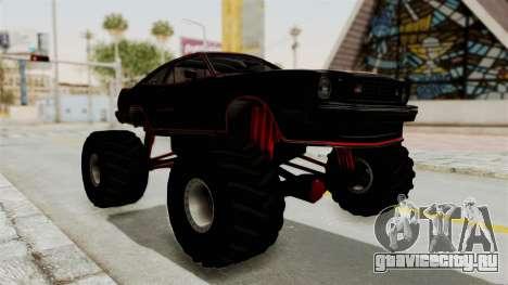 Ford Mustang King Cobra 1978 Monster Truck для GTA San Andreas вид справа