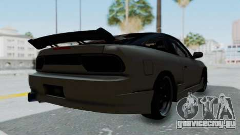 Nissan Sileighty TOD для GTA San Andreas вид сзади слева