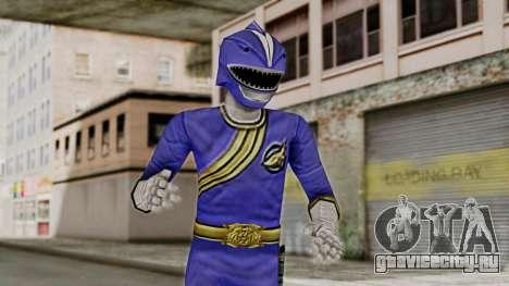 Power Rangers Wild Force - Blue для GTA San Andreas