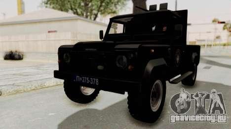 Land Rover Defender SAJ для GTA San Andreas