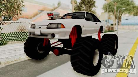 Ford Mustang 1991 Monster Truck для GTA San Andreas