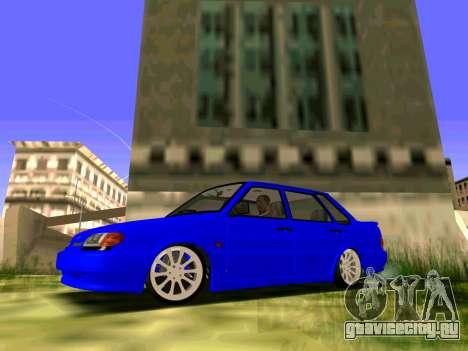 ВАЗ 2115 Битая для GTA San Andreas вид слева