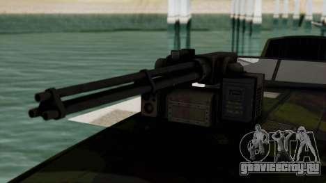 Triton Patrol Boat from Mercenaries 2 для GTA San Andreas вид сзади