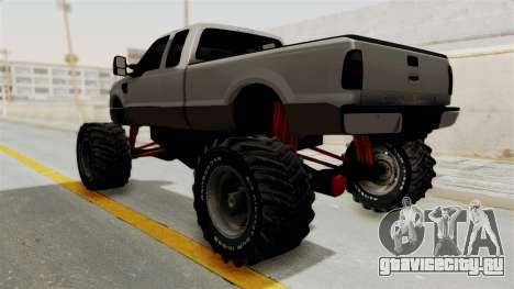 Ford F-350 Super Duty Monster Truck для GTA San Andreas вид справа