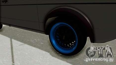 Volkswagen Golf 1 для GTA San Andreas вид сзади