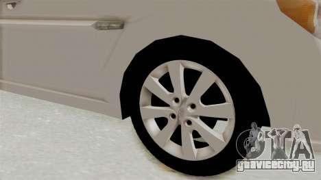 Hyundai Accent Era для GTA San Andreas вид сзади