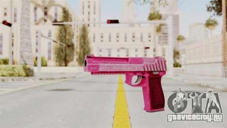 GTA 5 Pistol .50 Pink для GTA San Andreas второй скриншот