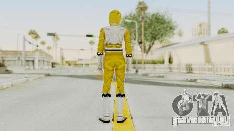 Power Rangers Lost Galaxy - Yellow для GTA San Andreas третий скриншот