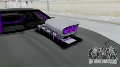 Chevrolet Corvette C4 Drag для GTA San Andreas вид сзади