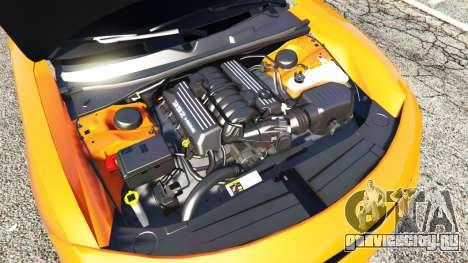 Dodge Charger SRT Hellcat 2015 v1.2 для GTA 5 вид спереди справа