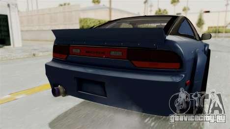 Nissan Silvia Sil80 для GTA San Andreas вид снизу