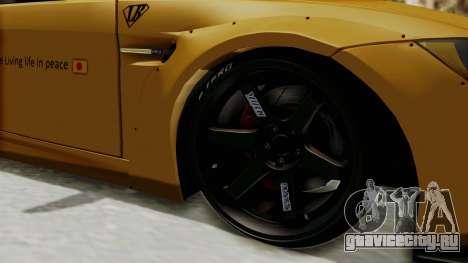 BMW M3 E92 Liberty Walk для GTA San Andreas вид сзади