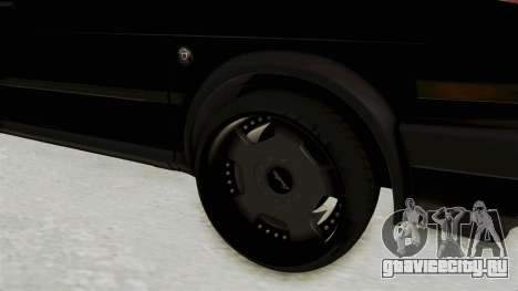 Volkswagen Jetta 2 для GTA San Andreas вид сзади