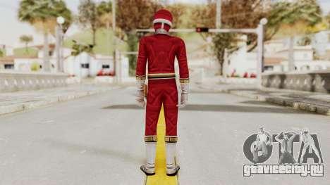 Power Rangers Lightspeed Rescue - Red для GTA San Andreas третий скриншот