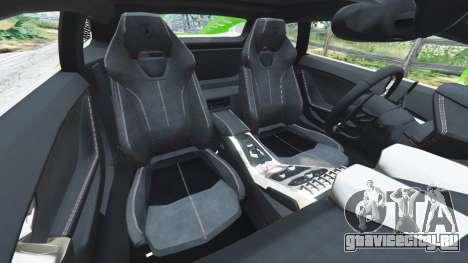 Lamborghini Huracan LP 610-4 2016 для GTA 5 вид справа