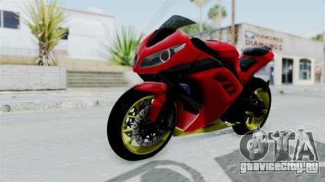 Kawasaki Ninja 250FI Anak Jalanan для GTA San Andreas вид справа