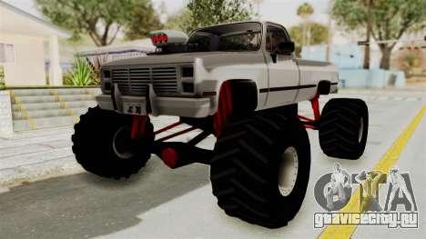 Chevrolet Silverado Classic 1985 Monster Truck для GTA San Andreas