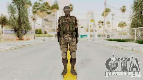 MGSV TPP Diamond Dog Combat Female для GTA San Andreas второй скриншот