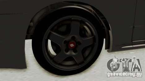 Nissan Skyline R32 4 Door для GTA San Andreas вид сзади