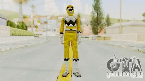 Power Rangers Lost Galaxy - Yellow для GTA San Andreas второй скриншот